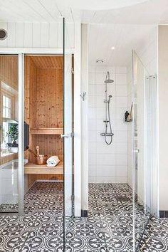 an ideal bathroom situation.