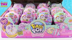 Today we have a full box of new Pikmi Pops Dough Mis plush blind bag figures. Each donut contains a sweet scented surprise. Baby Alive Doll Clothes, Baby Alive Dolls, Baby Dolls, Shopkins Season 9, Donut Friend, Kids Toys For Christmas, American Girl Doll Sets, Elf On The Self, Chelsea Doll