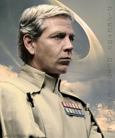 Silver Fox Krennic --- #DirectorOrsonKrennic, #BenMendelsohn, #RogueOne, #StarWars, #DeathStar,