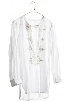 nili lotan, Feeling the sheer white tunics with bright colored skinny leg cuffed anything.  ~S