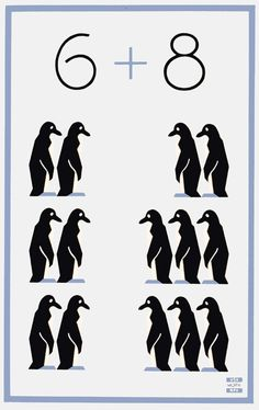 This WPA Federal Art Project poster created between 1936 and 1941 shows two columns of penguins and was used in New York to promote education and civic activity.