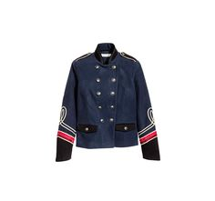 Veste officier brodée, H&M, 69,99 €