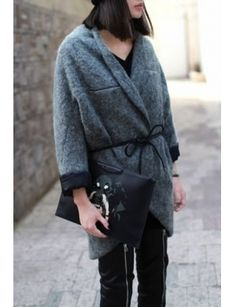 love this cocoon coat