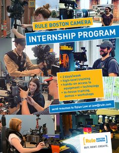 Dylan's interviewing for January-April interns right now! Get your resumes in for this semester or the next one and get hands-on training and access to the latest gear and technology. Internship Program, Good Cause, Feature Film, Filmmaking, Workplace, Documentaries, Resume, Boston, This Is Us