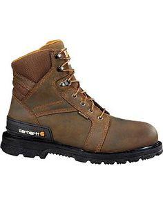f68d92588a1f Carhartt Men s Fudge Brown Waterproof Work Boot – Steel Toe