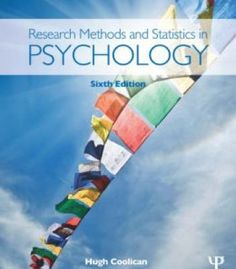 Research Methods And Statistics In Psychology 6th Edition PDF