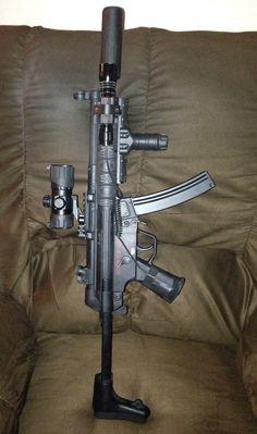 My Echo 1 US MP5 airsoft gun