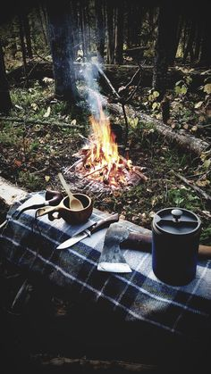 Nothing like getting out in the woods for a fire and some coffee.