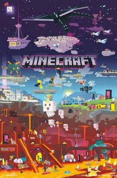 Images Minecraft, Minecraft World, Minecraft Posters, Minecraft Banner Designs, Minecraft Banners, Minecraft Houses, Creeper Minecraft, Minecraft Bedroom, Minecraft Crafts