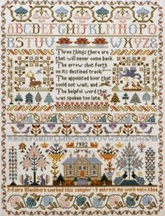 click here to view larger image of Three Things Sampler (chart)