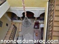 Vente d'un Riad a Marrakech