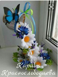 Best 11 Butterfly and perple flowers – SkillOfKing. Tea Cup Art, Tea Cups, Silk Flowers, Paper Flowers, Butterfly Flowers, Easter Crafts, Christmas Crafts, Cup And Saucer Crafts, Floating Tea Cup