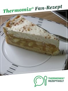 Apple pie with cream dome- Apfelkuchen mit Sahnehaube Apple cake with cream topping by superbibi. A Thermomix ® recipe from the Baking Sweet category www.de, the Thermomix® Community. Easy Cookie Recipes, Easy Desserts, Baking Recipes, Dessert Recipes, Cherry Desserts, Recipes Dinner, Easy Recipes, Dessert Simple, Food Cakes