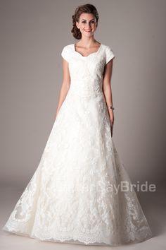 Seraphim Modest Wedding Dress Latter Day Bride & Prom Gateway Bridal
