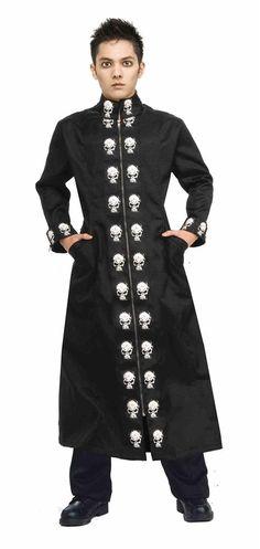 #Trendy Halloween - #Forum Novelties Skull Duster Teen Coat - AdoreWe.com