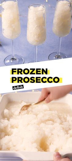 It's Official: FroSecco Is The New Frosé Delish