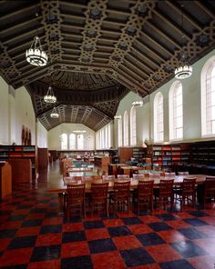 Powell Library Reading Room; Atkinson Photographic Archive || Los Angeles