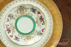 Mismatched China : Plates