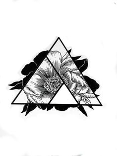 Flower - love | three triangles- family( with one child)