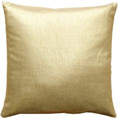 Pillow Decor Tuscany Linen Gold Metallic 20x20 Throw Pillow (87 BAM) ❤ liked on Polyvore featuring home, home decor, throw pillows, pillow, metallic throw pillows, gold toss pillows, square throw pillows, gold throw pillows and metallic gold throw pillows