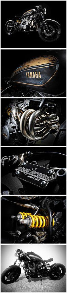 One Speed's Yamaha XS1100 - 'Shokker'