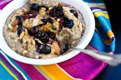 Make ahead steel cut oats. I'll probably make these non-vegan, but I def want to try this.
