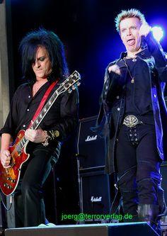 Steve Stevens & Billy Idol, Hannover - GildePark 2008