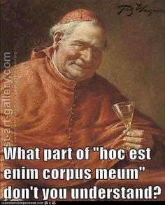 Catholic memes - The Snarky Cardinal Catholic Jokes, Catholic Kids, Rosary Catholic, Catholic Beliefs, Importance Of Prayer, Christian Humor, Priest, Thought Provoking, Prayers