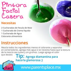 pintura facial casera Diy For Kids, Crafts For Kids, Mary Kay Facial, Skin Care Routine 30s, Ideas Para Fiestas, Barbie, Science Projects, Kids And Parenting, Luhan