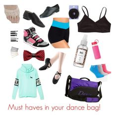 A fashion look from August 2015 featuring graphic tops, padded socks and Bloch Dance. Browse and shop related looks. Cheer Dance, Dance Stuff, Dance Fashion, Gym Leggings, Swim Wear, Athletics, Must Haves, Competition, Dancing