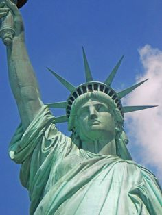 Of Thee I Sing I Statue of Liberty Art Photograph by EclatDesigns, $15.00