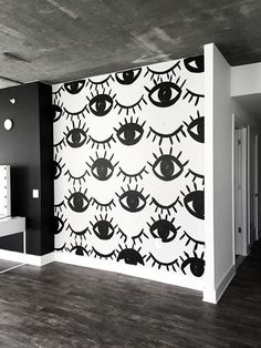 Eye see you. #2020AVE #interior #wallpaper