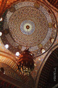 Suleiman Pasha Mosque: Interior Saladin's Citadel, Cairo.