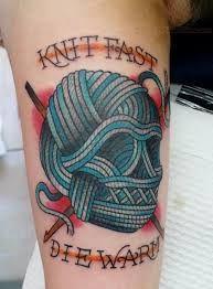 knit tattoo - Google Search
