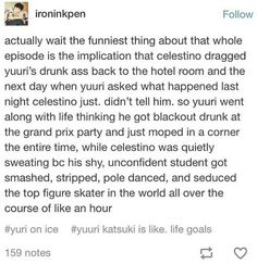 HAHAHAHA OH YUURI. THIS IS SO FUNNY IM NEVER GETTING OVER THIS