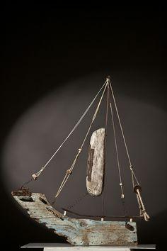 Sculpture Metal, Driftwood Sculpture, Driftwood Seahorse, Driftwood Furniture, Driftwood Crafts, Driftwood Ideas, Boat Crafts, Boat Art, Wood Boats