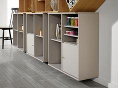 Flexibel förvaring av vår tillverkare Hammel. EM Möbler - Mistral. Divider, Room, Furniture, Home Decor, Bedroom, Decoration Home, Room Decor, Rooms, Home Furniture