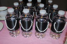 Tea Party Breakfast At Tiffany's Style little black dress water