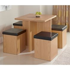 Stockholm Stowaway Dining Set 5pc | Dining Furniture, Dining Table