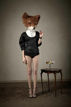 27 Ideas for human body art photography legs Animal Masks, Animal Heads, Fox Animal, Head Tumblr, Animal Instinct, Art Photography, Fashion Photography, 3d Fantasy, Cultura Pop