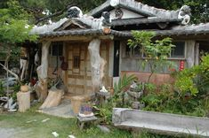 Sashi's Japanese Antique Store. Great selections of kimonos, make your own Shisa Dog find treasuries. Nago, Okinawa close to Pizza in the Sky. Info: Northern Adventure with Okinawa Hai.