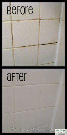 Genervt von schmutzigen Fugen im Badezimmer? So wird man sie los! - DIY Bastelideen