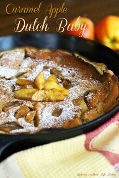 Melissa's Southern Style Kitchen: Caramel Apple Dutch Baby