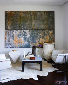 Stylish Washington DC Home - Neutral Home Palette in DC - ELLE DECOR