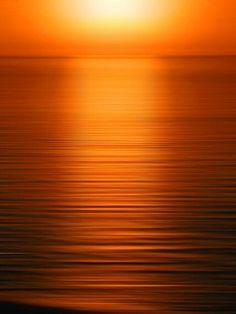 Orange Ombré Photography