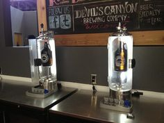 Pegas growler fillers  - installed at Devils Canyon Brewery in San Carlos, CA