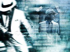 Michael Jackson - Smooth Criminal Desktop wallpaper