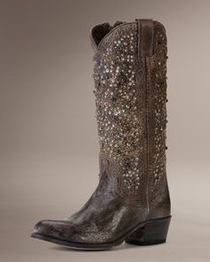 Deborah Studded Tall by The Frye Company. These are absolutely stunning and I WILL own them one day.