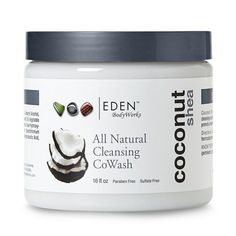 Amazon.com : EDEN BodyWorks Coconut Shea Cleansing CoWash 16oz : Beauty