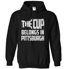 The Cup belongs in Pittsburgh - #cheap t shirts #long hoodie. GET => https://www.sunfrog.com/Sports/The-Cup-belongs-in-Pittsburgh-Black-41313323-Hoodie.html?id=60505